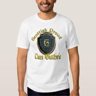 Camisetas orgulloso escocés de Guthrie del clan Remeras