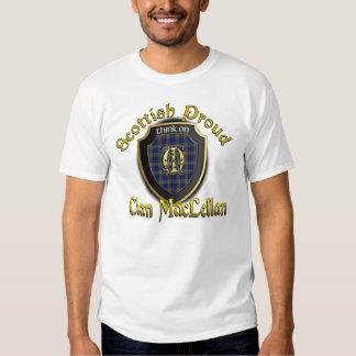 Camisetas orgulloso escocés de MacLellan del clan Playeras