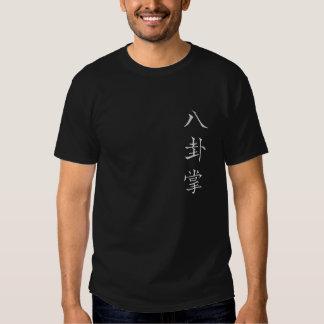 Camisetas oscuro para hombre del bagua playeras