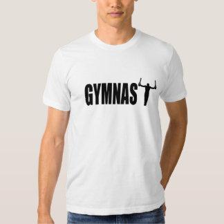 Camisetas para hombre del gimnasta poleras