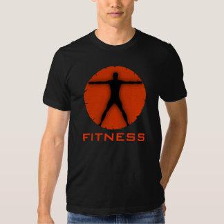 Camisetas para hombre del hombre de Vitruvian de Poleras