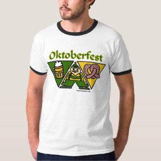 Camisetas para hombre del pretzel de Oktoberfest Remera