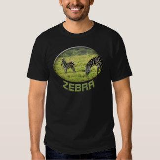 Camisetas para hombre del safari de la fauna de la polera