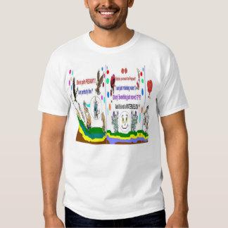 Camisetas para hombre especial del embarazo remera