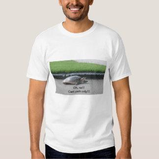 Camisetas para los golfistas playeras
