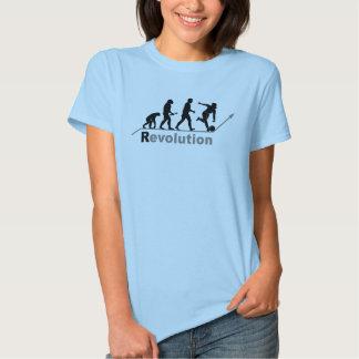 Camisetas para mujer de la revolución de los bolos playeras