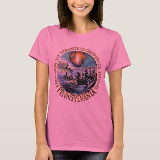 Camisetas Pennsylvania de la fiesta del té de
