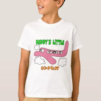 """Camisetas pequeño copiloto del papá"""" de los niños"""