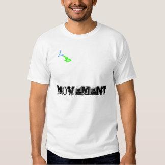 Camisetas perdidas del movimiento de los muchachos playeras