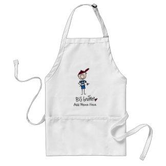 Camisetas personalizadas y regalos de hermano mayo delantal