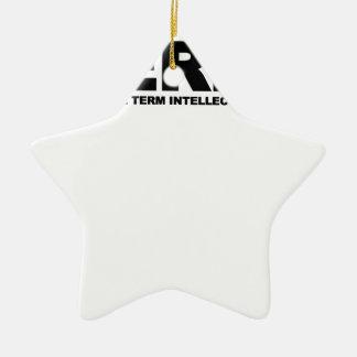 Camisetas .png de Badass del empollón Adorno De Cerámica En Forma De Estrella