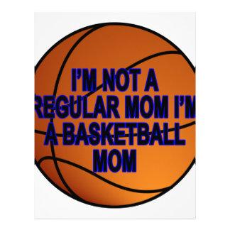 Camisetas .png de las mamáes del baloncesto membrete personalizado