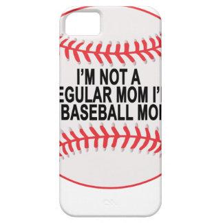 Camisetas .png de las mamáes del béisbol iPhone 5 funda