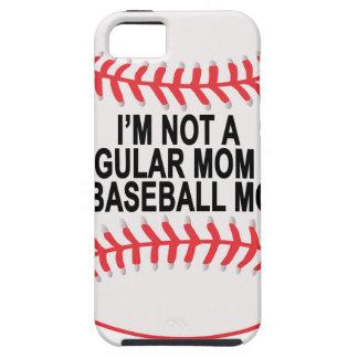 Camisetas .png de las mamáes del béisbol iPhone 5 fundas