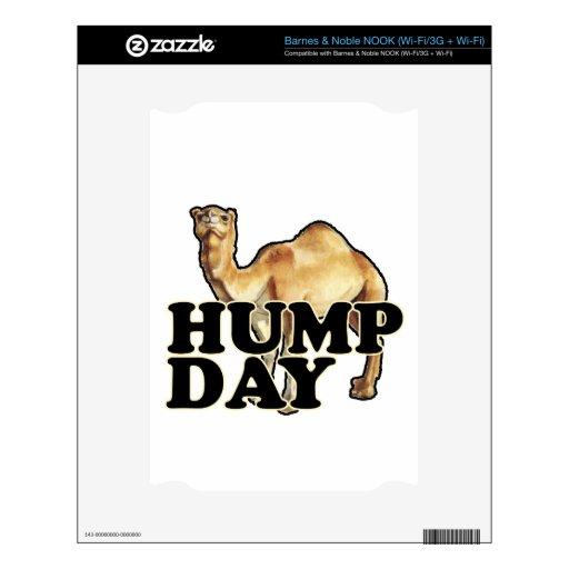 Camisetas .png del camello del día de chepa calcomanía para el NOOK