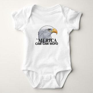Camisetas .png del humor del águila del CAW del Polera