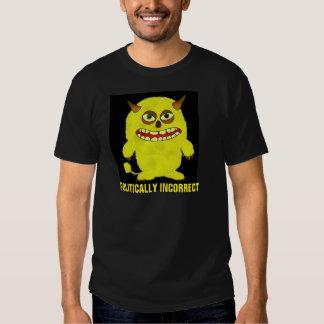 Camisetas político incorrectas playera