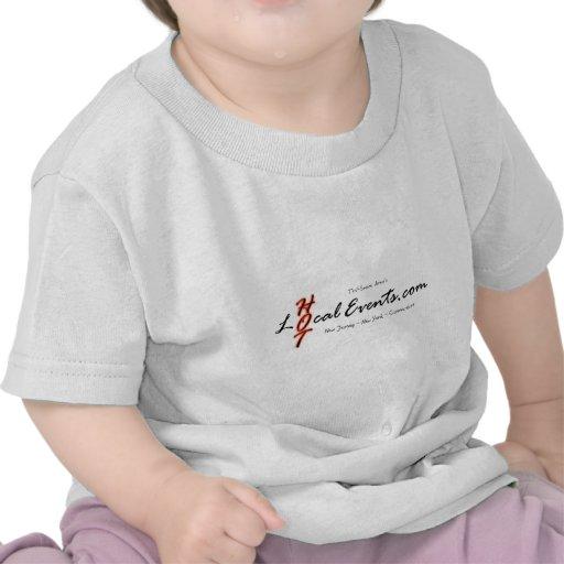 Camisetas promocionales blancas para HotLocalEvent