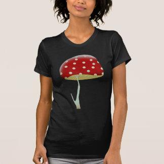 Camisetas psicodélicas de las setas del tinte