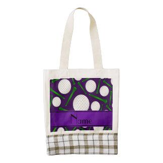 Camisetas púrpuras conocidas personalizadas de las bolsa tote zazzle HEART