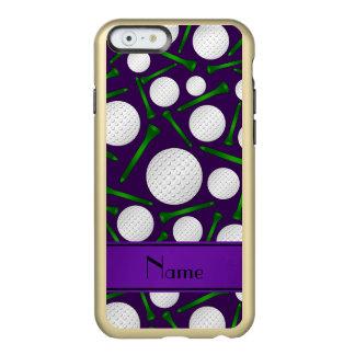 Camisetas púrpuras conocidas personalizadas de las funda para iPhone 6 plus incipio feather shine
