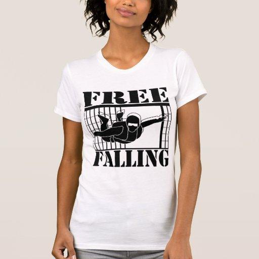 Camisetas que caen libres