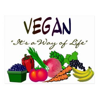 Camisetas/regalos vegetarianos tarjeta postal