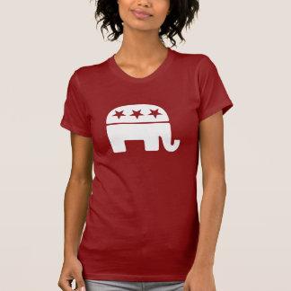 Camisetas republicano del elefante