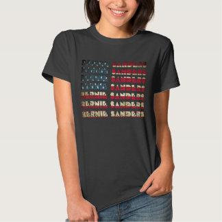 Camisetas retras de la bandera el | de los polera