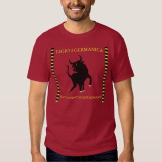 Camisetas romanas de la legión playeras
