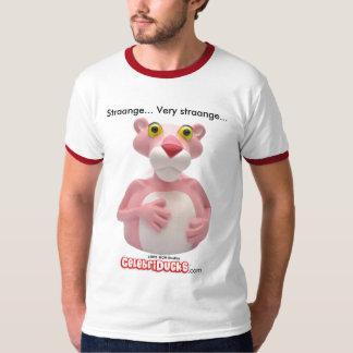 Camisetas rosadas de la pantera por CelebriDucks
