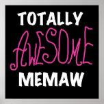 Camisetas rosadas totalmente impresionantes de Mem Posters