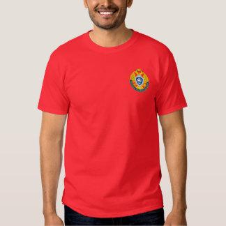 Camisetas ruso de la contrainteligencia camisas