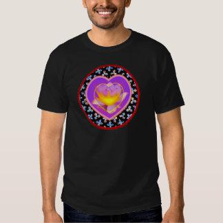Camisetas sagradas del corazón poleras