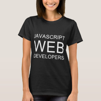 Camisetas Scripting del Web del Javascript