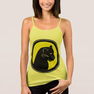 Camisetas sin mangas amarillas del tirante de