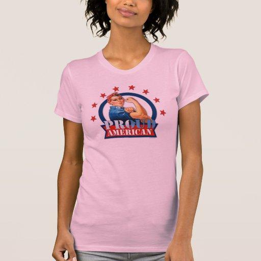 Camisetas sin mangas americanas orgullosas de las