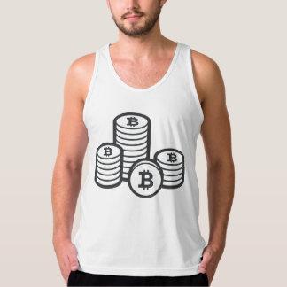 """Camisetas sin mangas """"binarias"""" de Bitcoin (BTC)"""