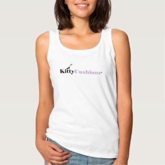 Camisetas sin mangas blancas para mujer del