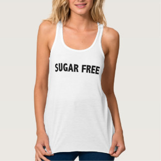 Camisetas sin mangas coquetas sin azúcar