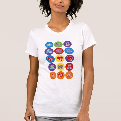 Camisetas sin mangas de la conciencia de Austim de
