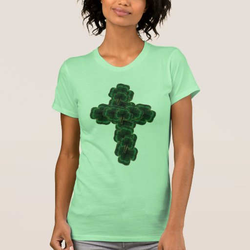 Camisetas sin mangas de la cruz de la impresión