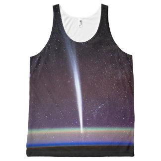 Camisetas sin mangas de la estrella fugaz de