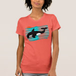 Camisetas sin mangas de la orca