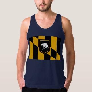 Camisetas sin mangas de la rata de Baltimore