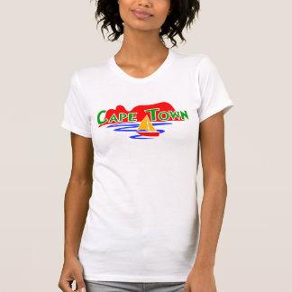 Camisetas sin mangas de las señoras de Cape Town
