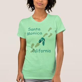 Camisetas sin mangas de los flips-flopes de Santa
