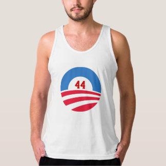 Camisetas sin mangas de Obama 44