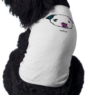 Camisetas sin mangas de Sr. Fig Newton Doggie Camiseta De Perro