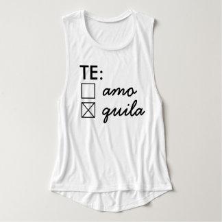 Camisetas sin mangas de Te Amo Te Quila